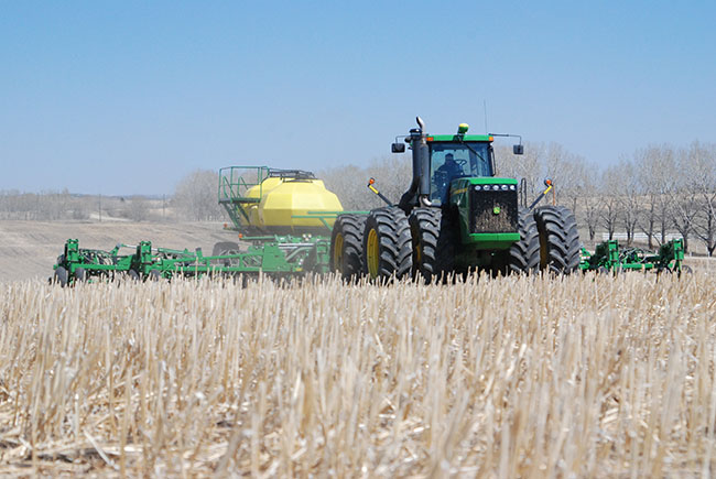 Chasing soil moisture with crop rotations
